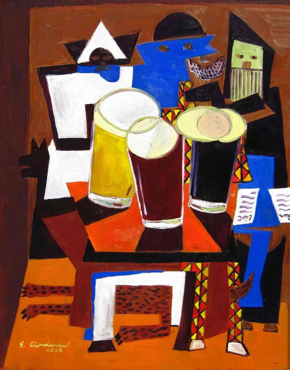 Пабло Пикассо «Три музыканта»