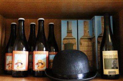 Пиво в музее Рене Магритта