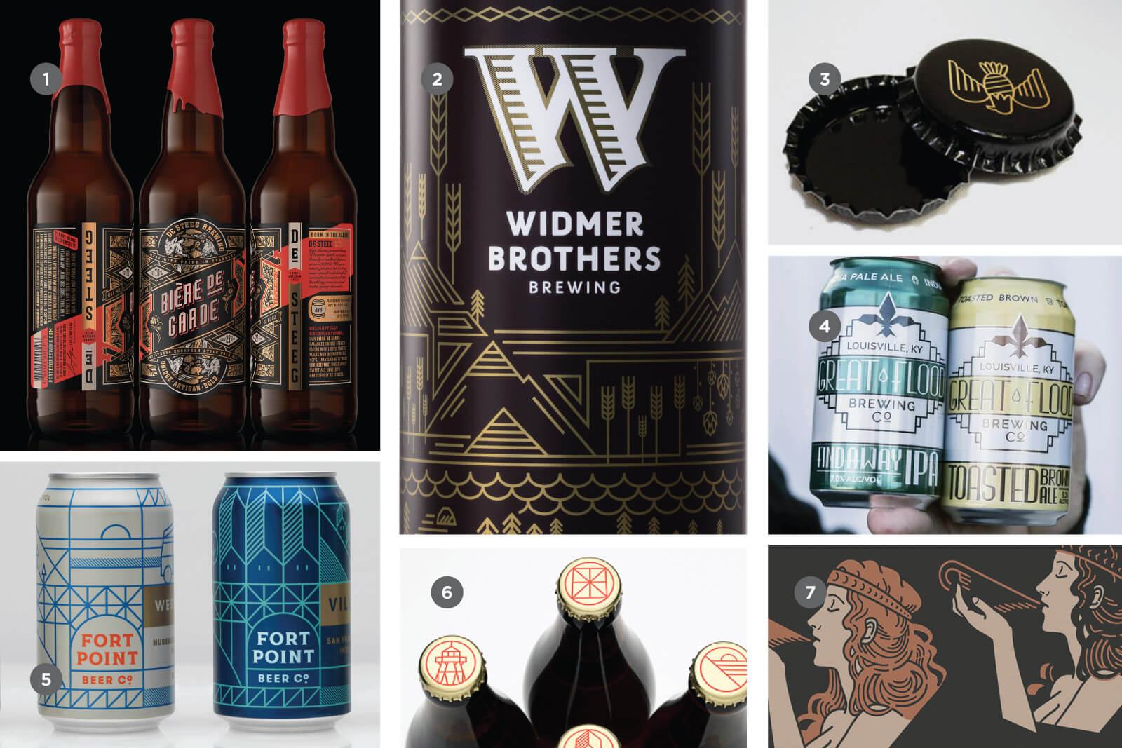 Ар-деко в дизайне крафтового пива
