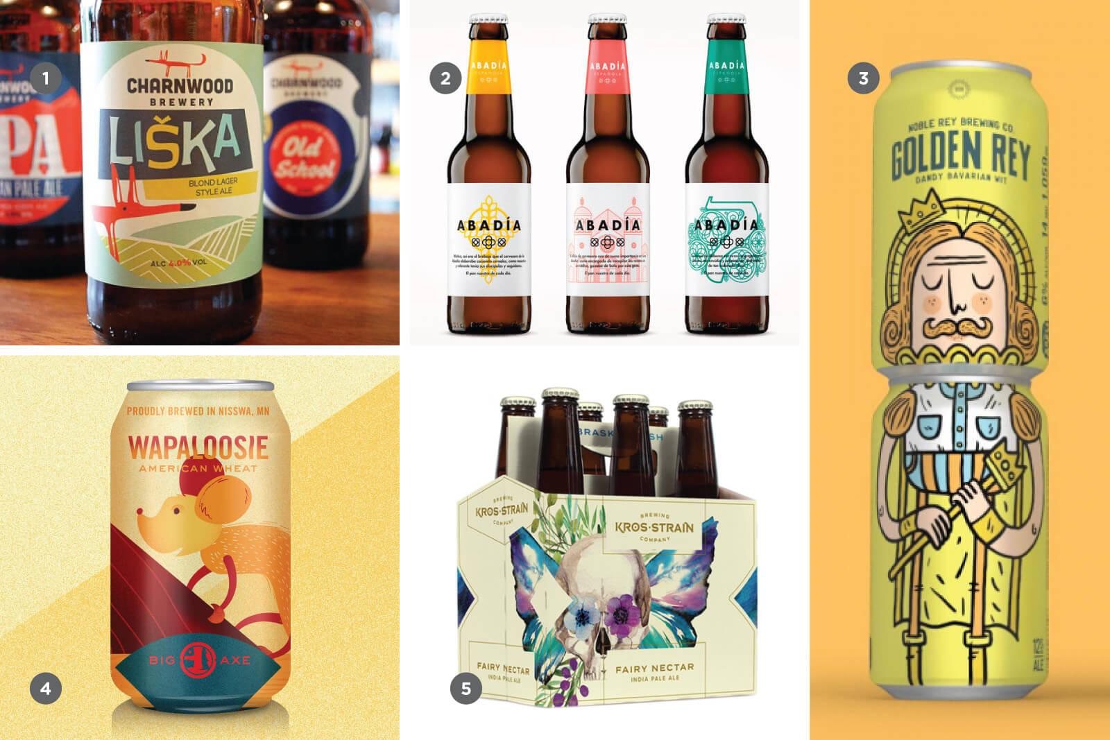Женственность в дизайне крафтового пива
