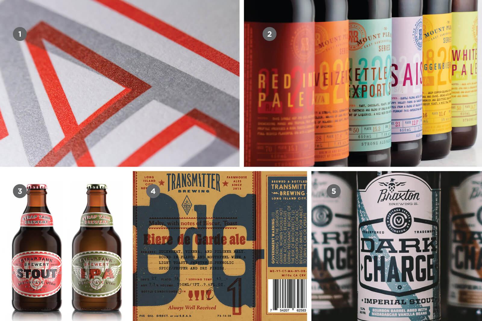 Многослойность в дизайне крафтового пива