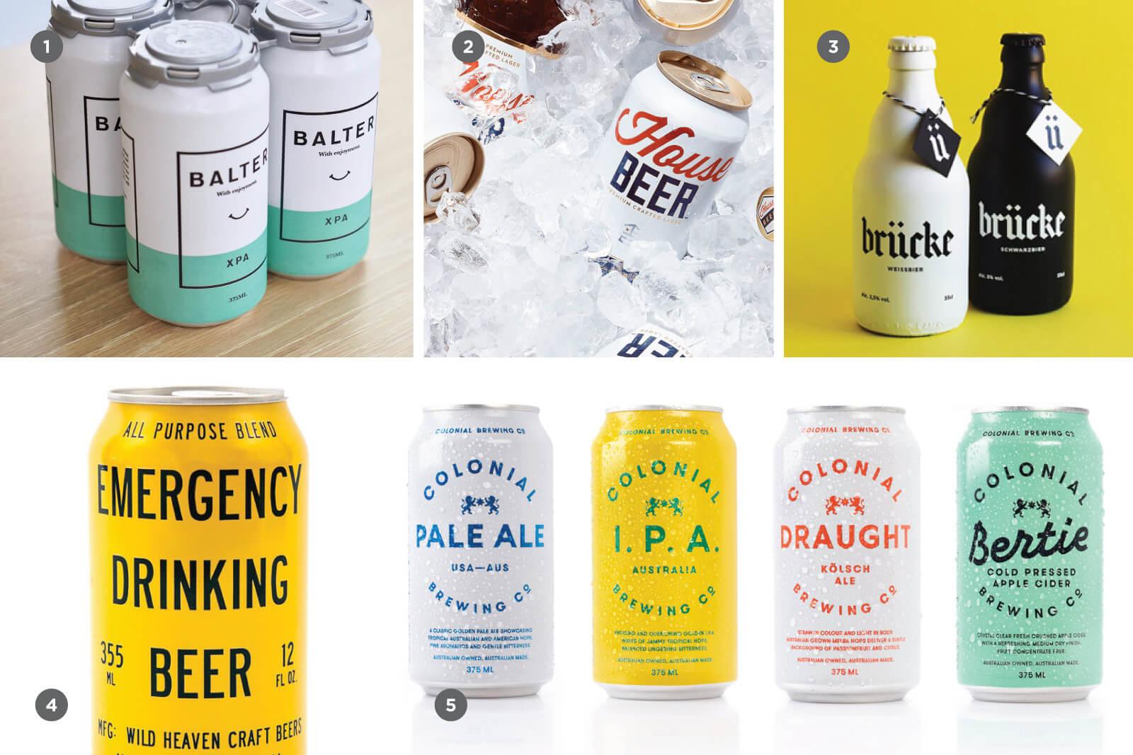 Ультра-чистота и минималистичность в дизайне крафтового пива
