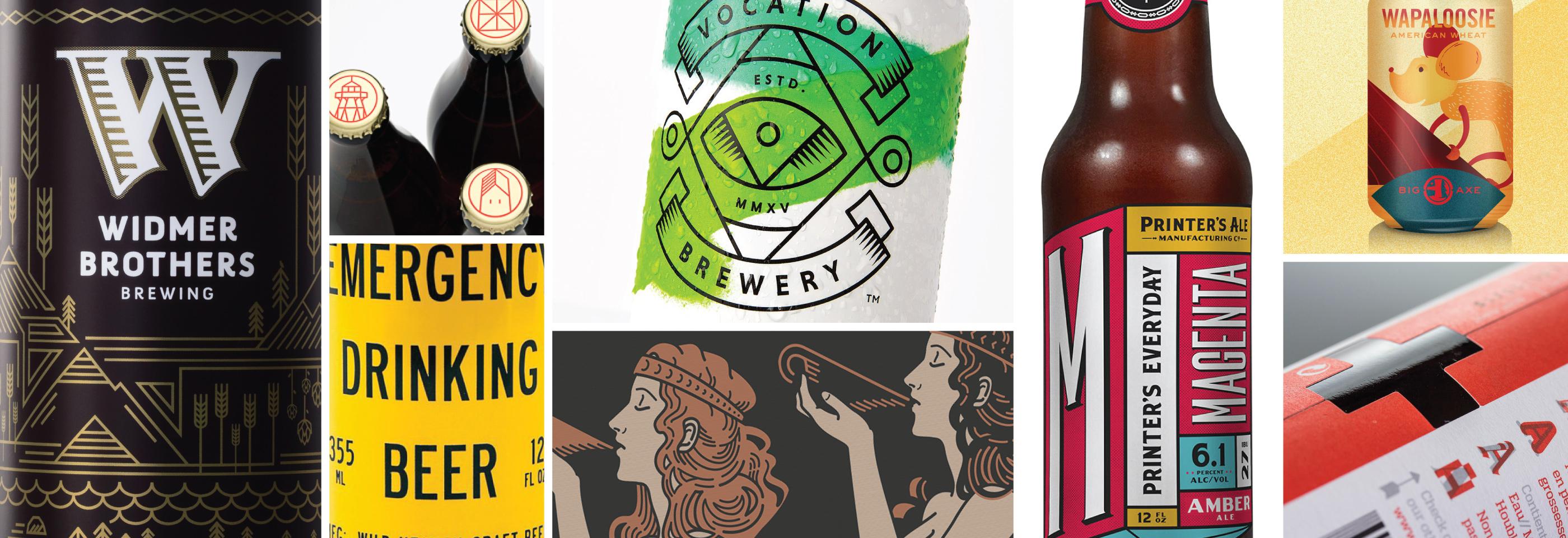 Тренды 2017 года в дизайне этикеток крафтового пива