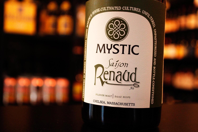 Mystic Brewing — Saison Renaud
