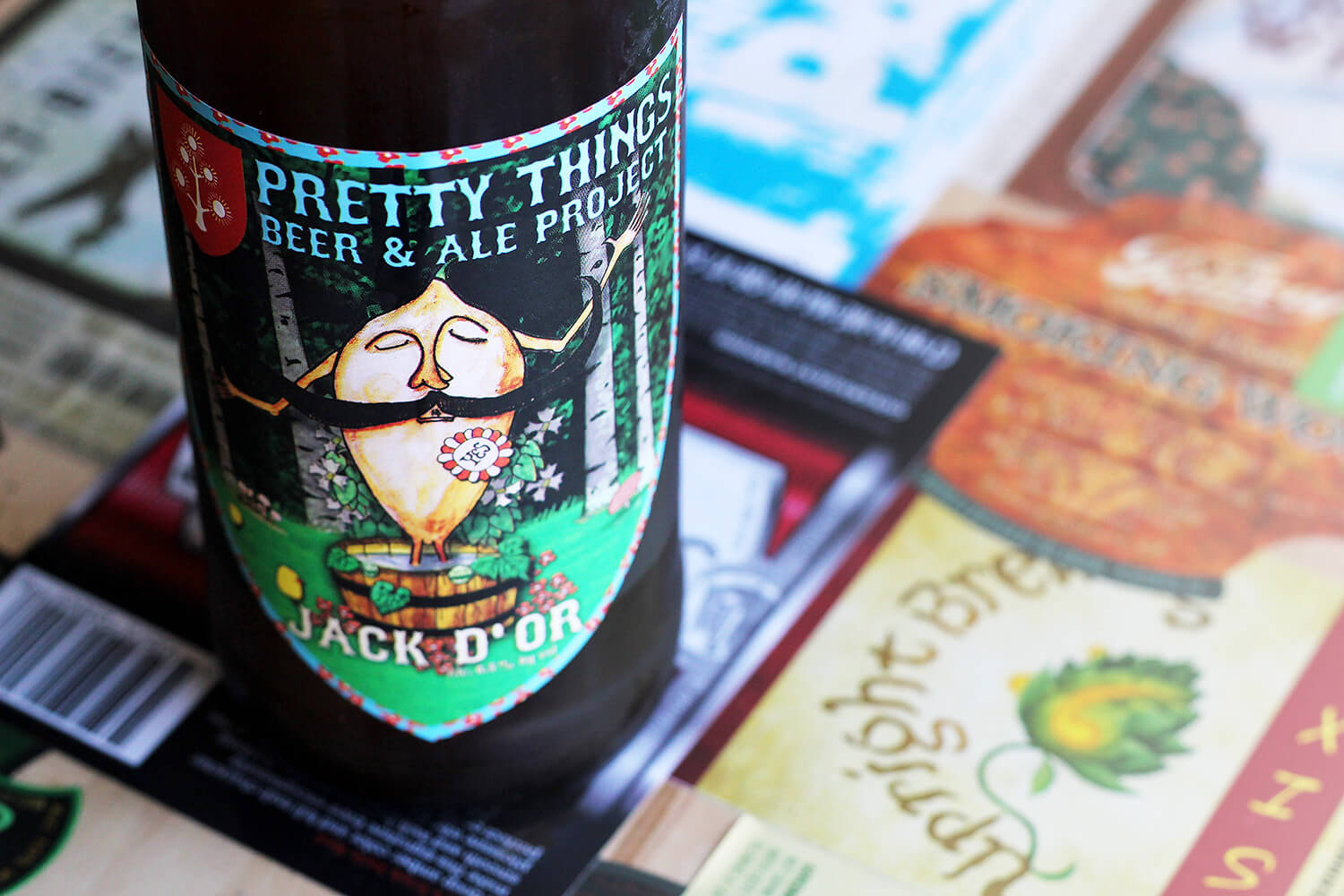Pretty Things Beer And Ale Project — Jack D'Or