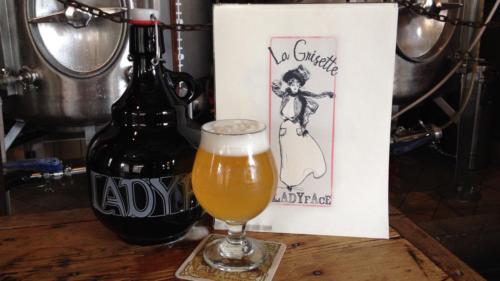 Ladyface Ale Companie — La Grisette