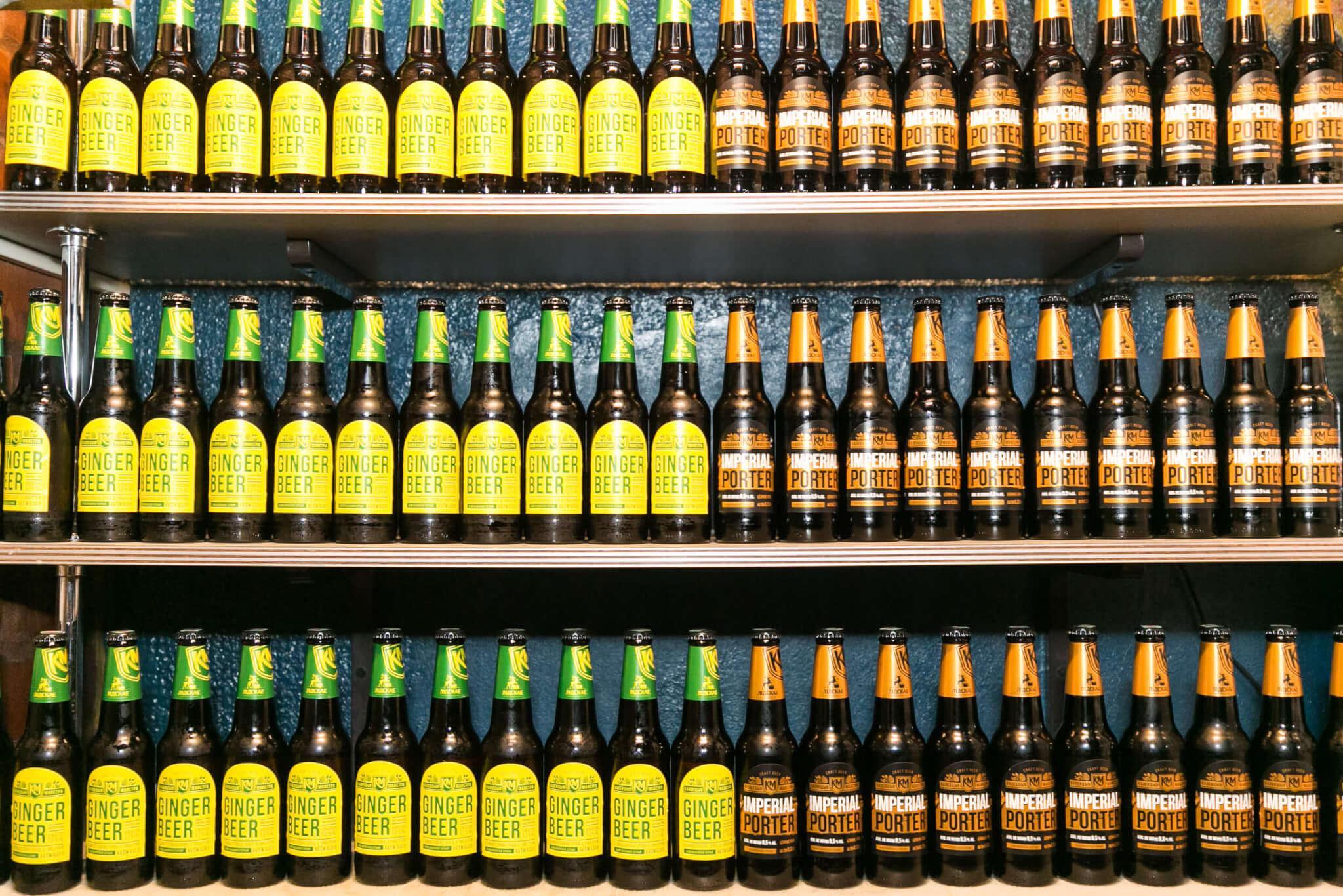 «Лідскае Imperial Porter» и «Лідскае Ginger Beer»