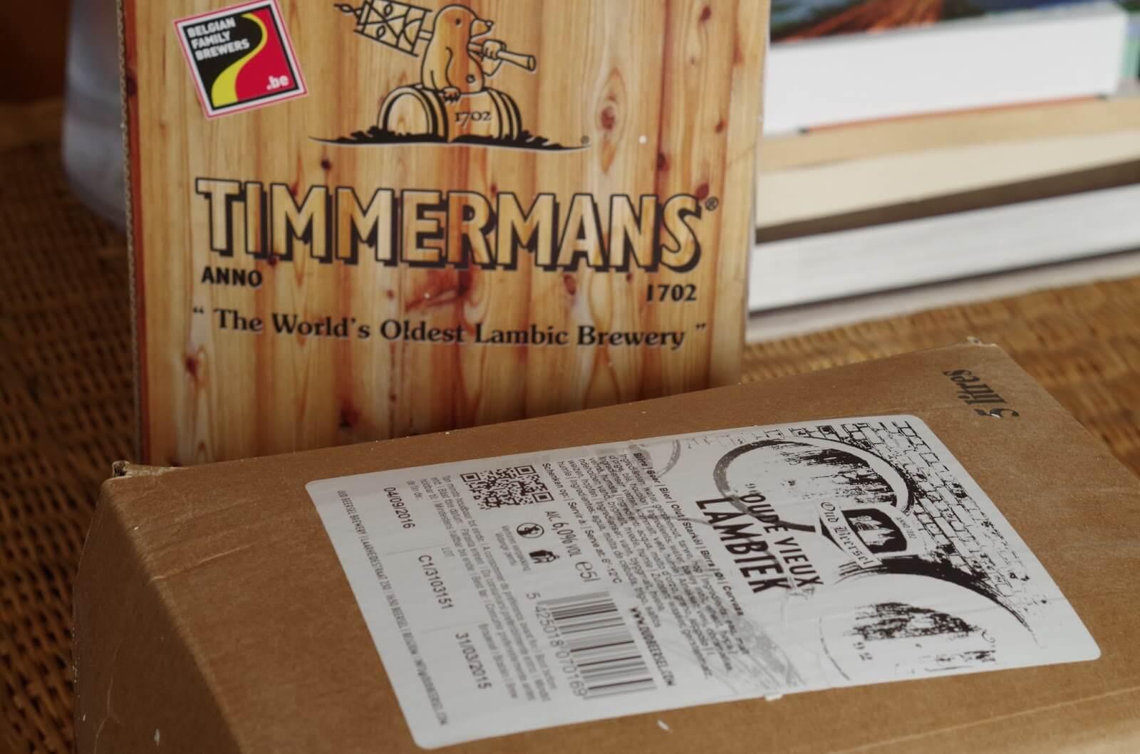 Timmermans в картонной коробке