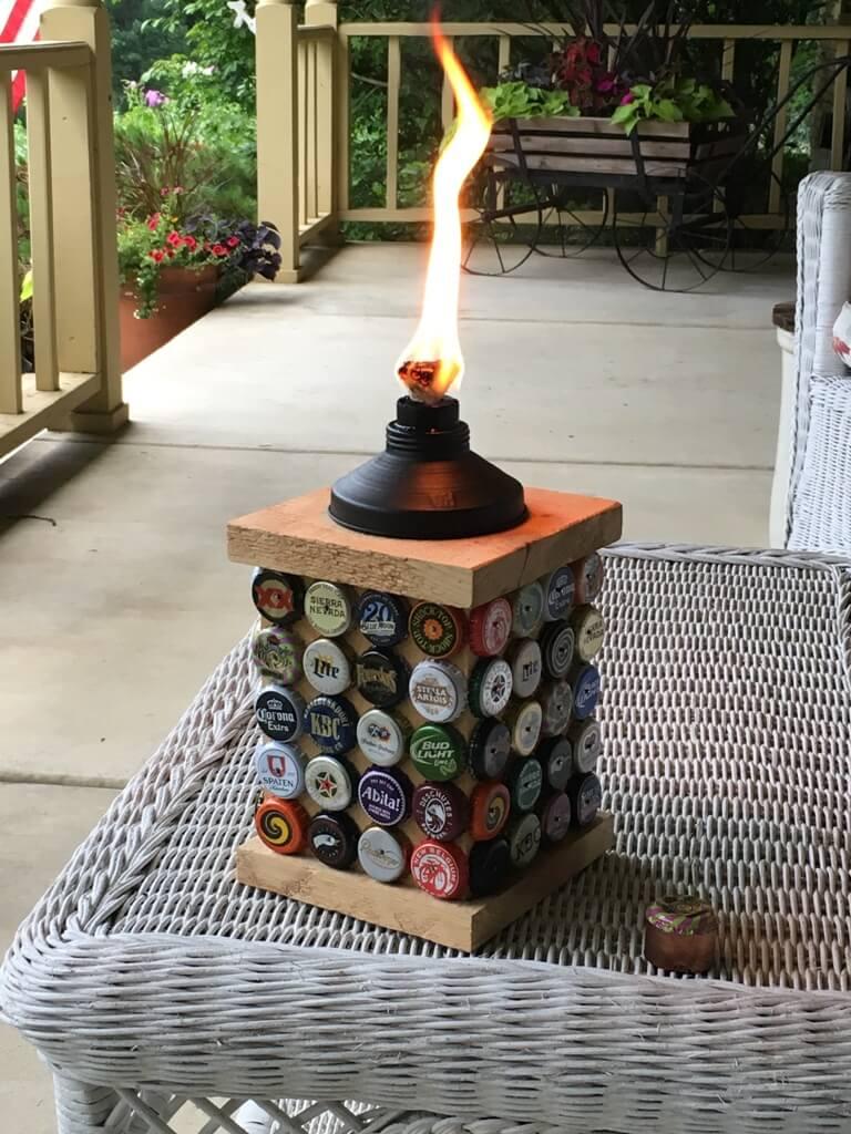 Факел с пробками