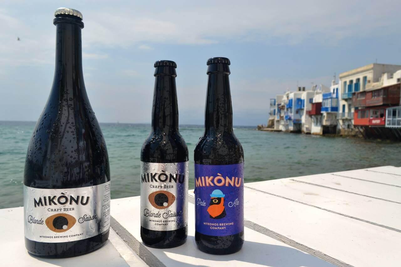 Пиво Mykonos