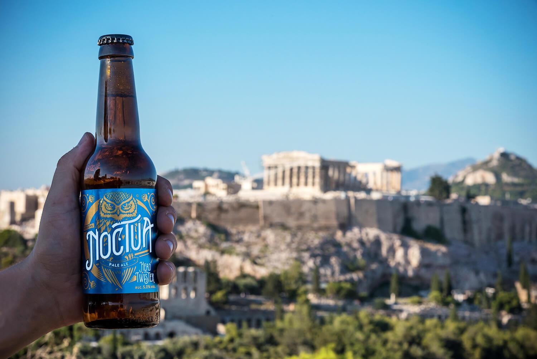 Греческое пиво Noctua
