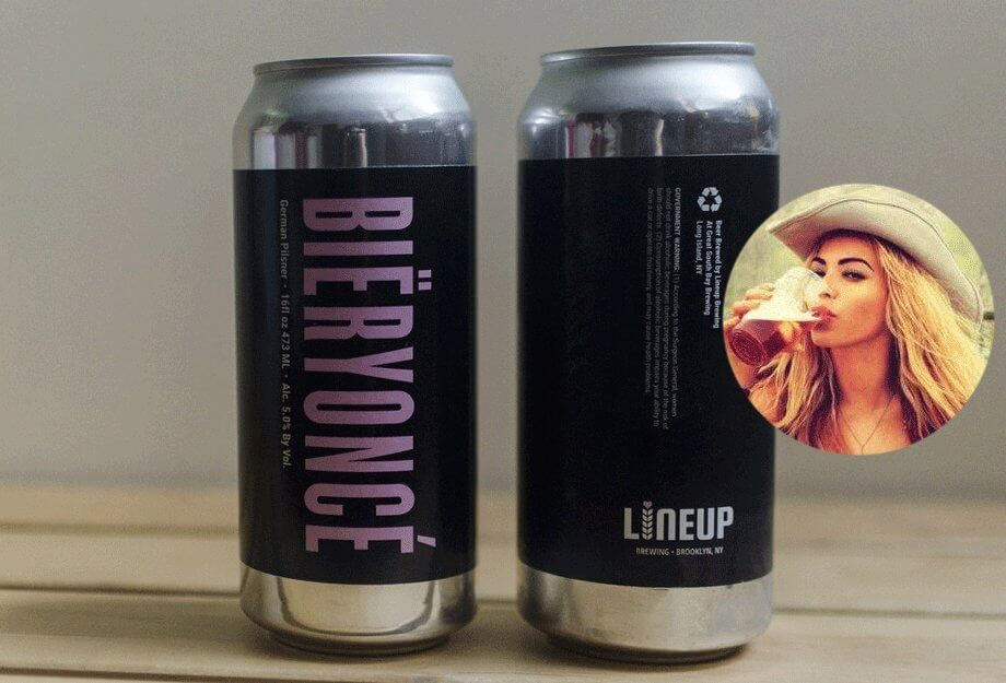 Lineup Brewing — Bïeryoncé