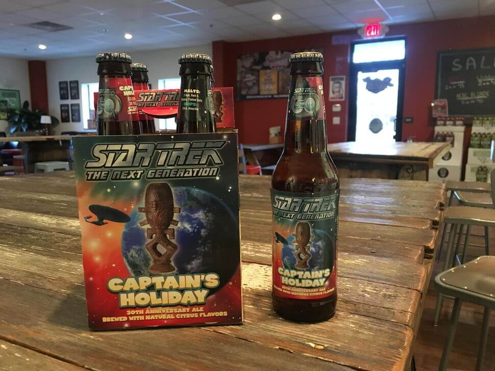 Shmaltz Brewing — Captain's Holiday