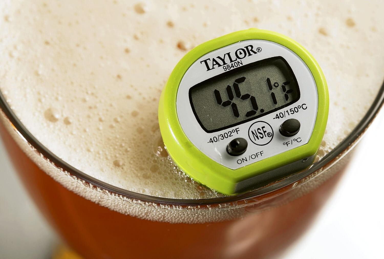 Измерение температуры пива