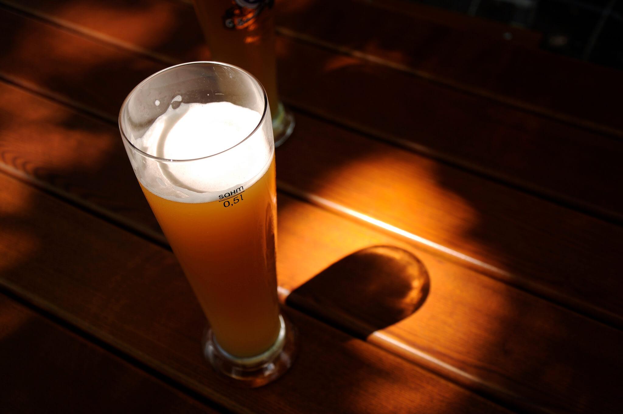Немецкое пшеничное пиво