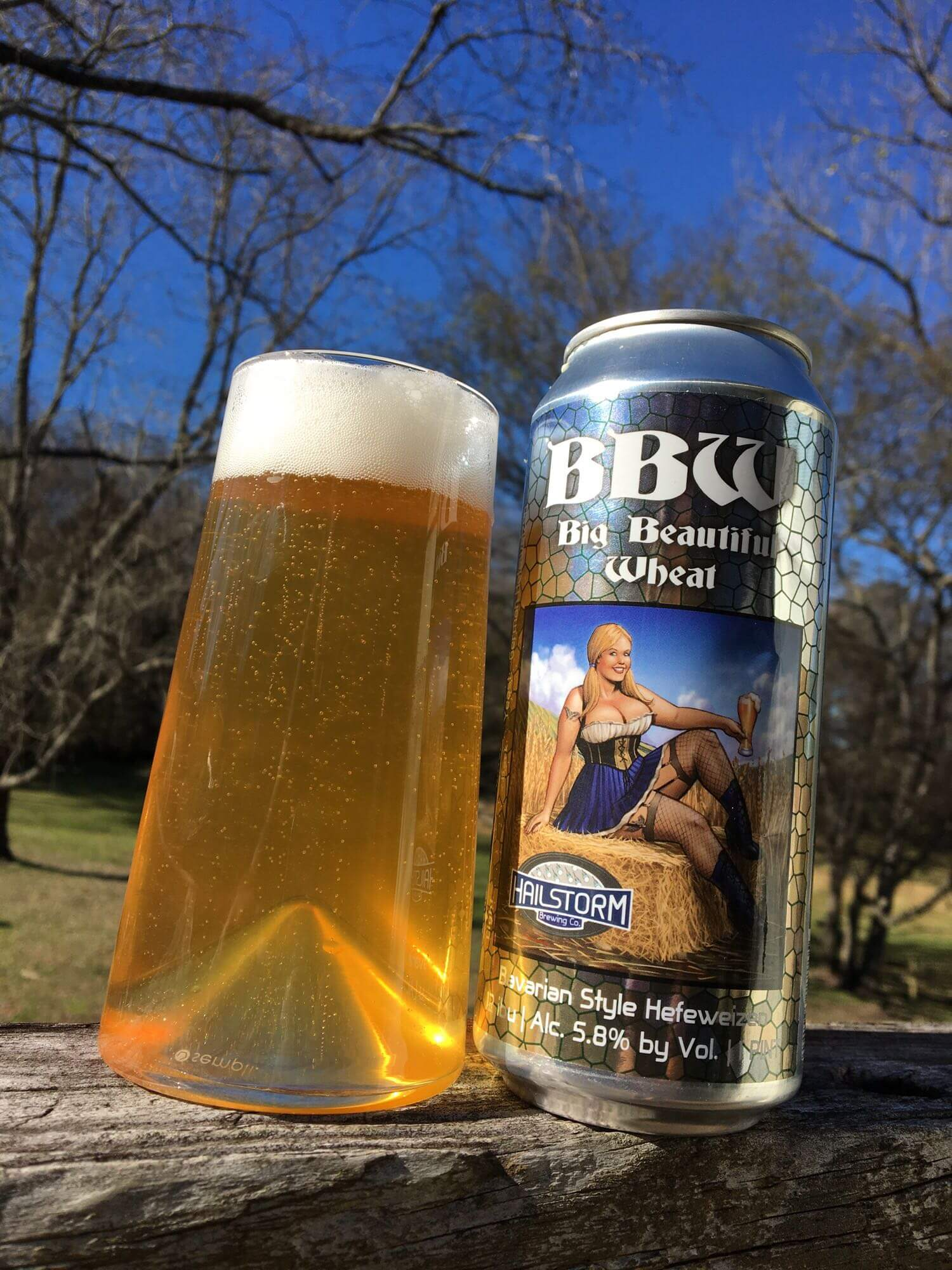 Hailstorm — BBW (Big Beautiful Wheat)