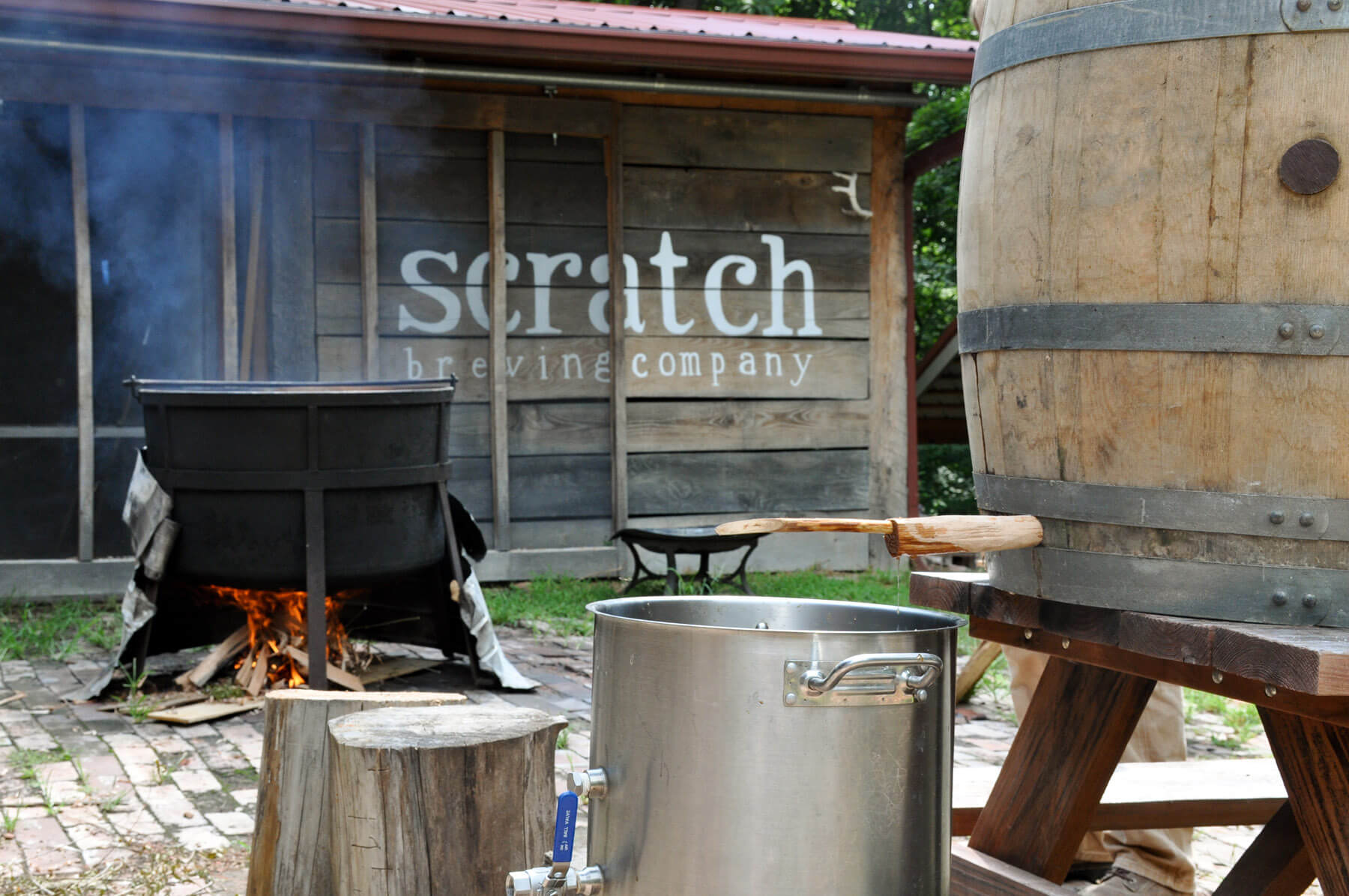 Варка грюйта на Scratch Brewing Company