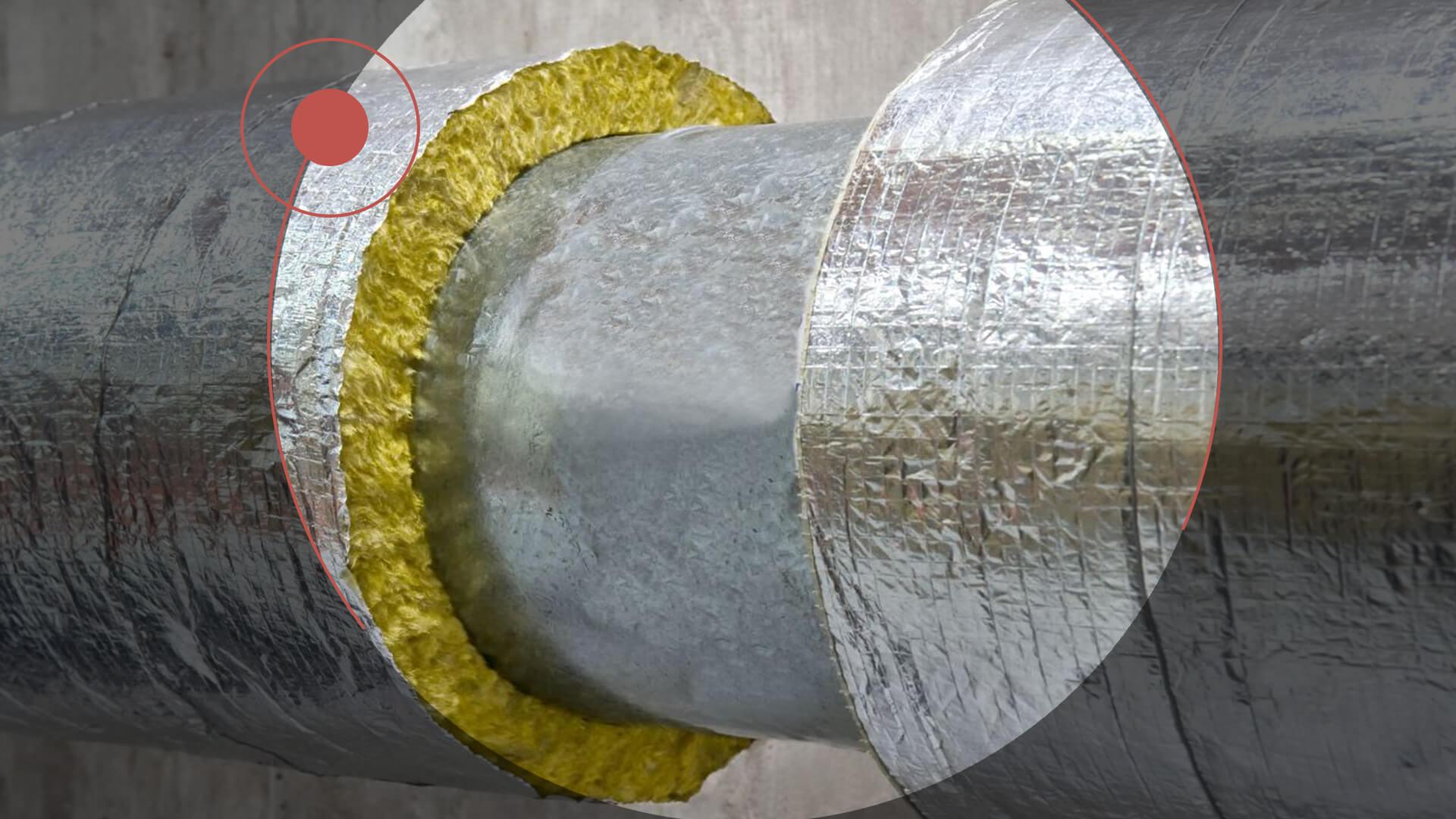 Теплоизоляция трубопроводов пивоварни