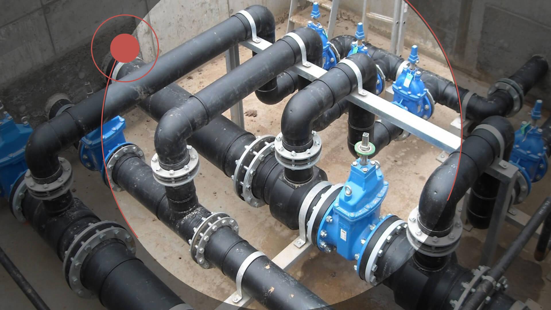 Инженерные сети пивоварни (канализация, водоснабжение, вентиляция)