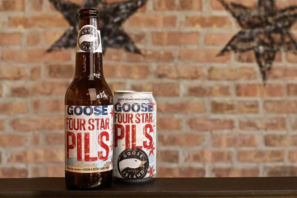 Goose Island — Four Star Pils
