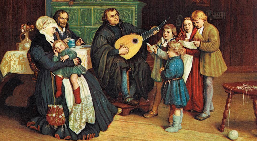 Семья Мартина Лютера