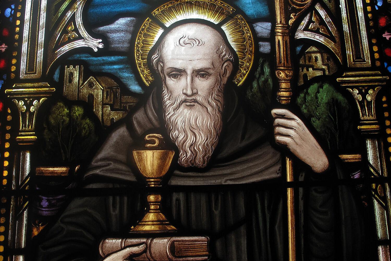 Св. Бенедикт Нурсийский, основатель ордена бенедиктинцев
