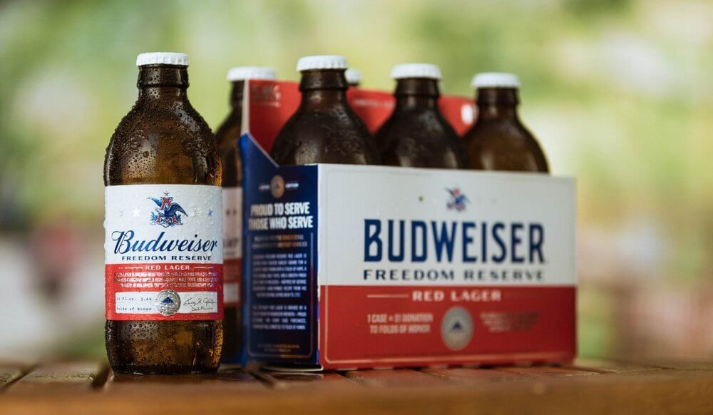 Budweiser — Freedom Reserve Red Lager