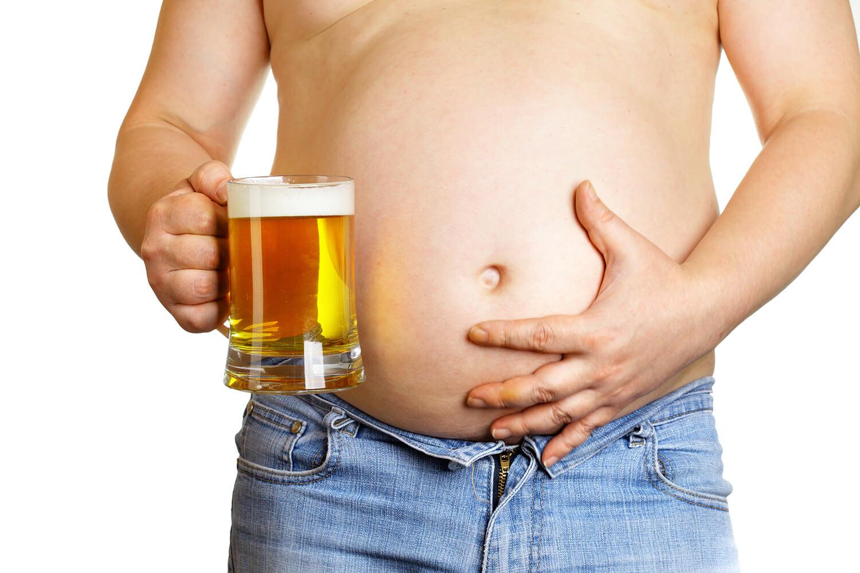 лишний вес из за алкоголя