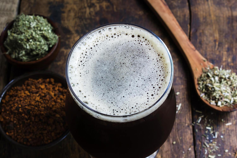 Травы в пиве