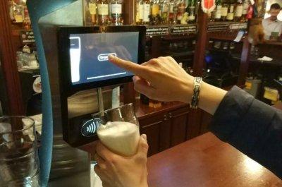 Пивной кран с бесконтактной оплатой