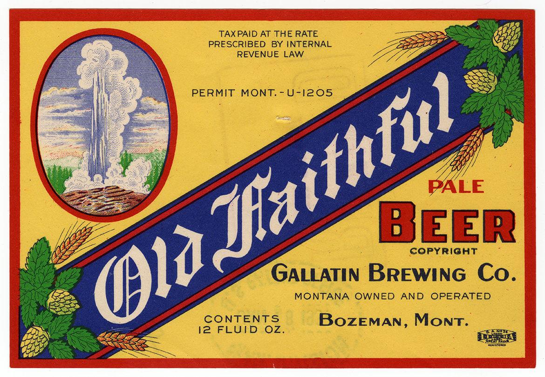 Old Faithful Beer