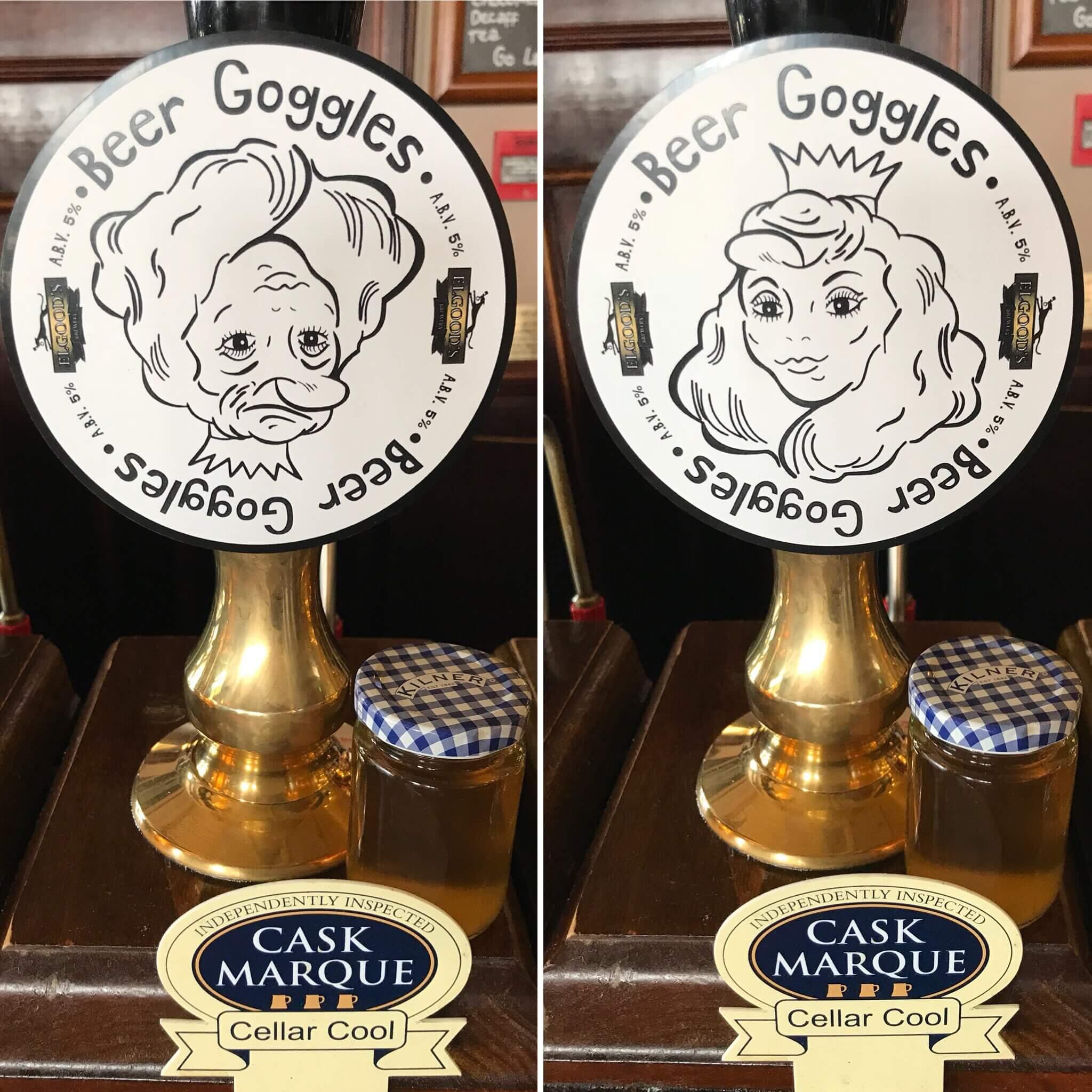 Elgood's — Beer Goggles
