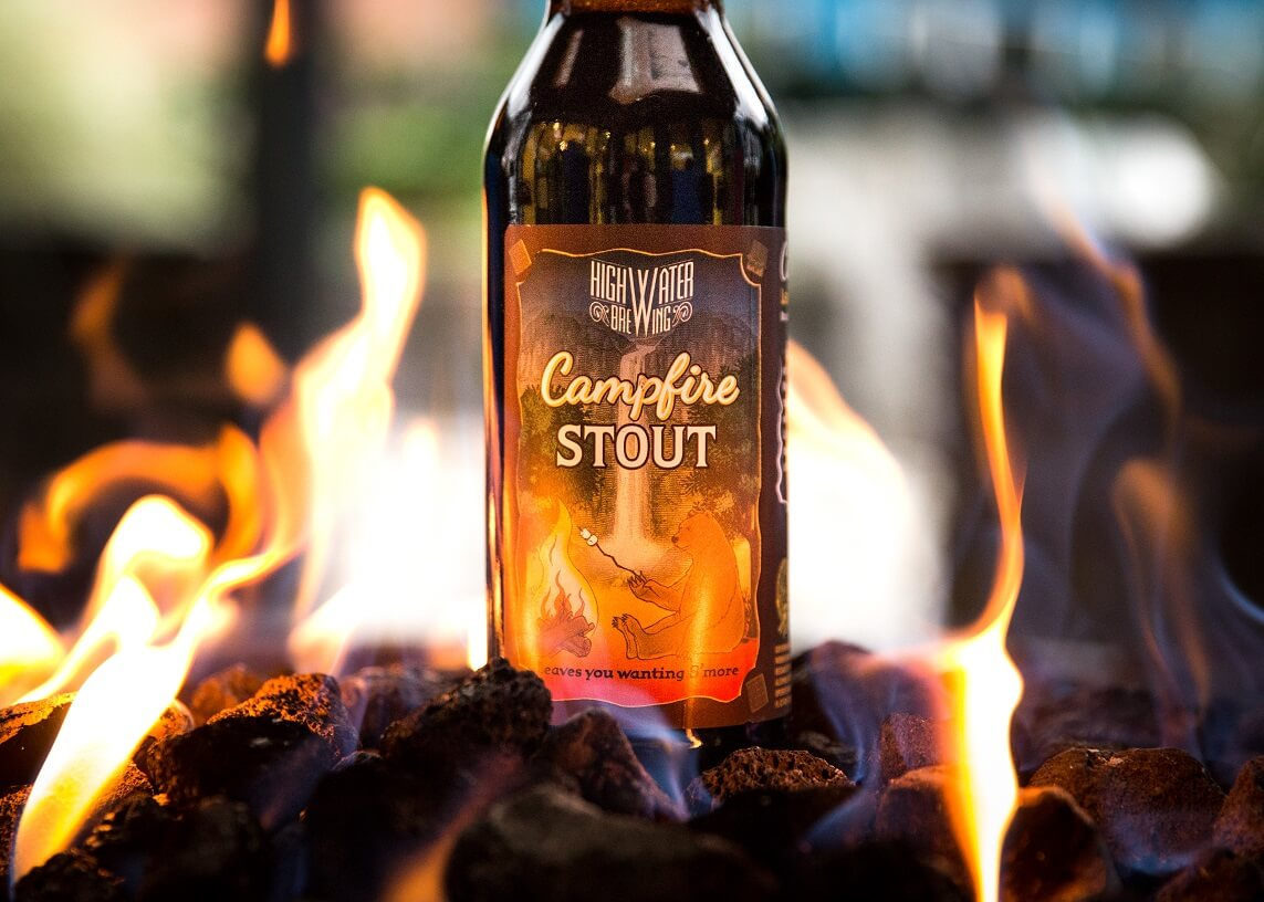High Water Brewing — Campfire Stout