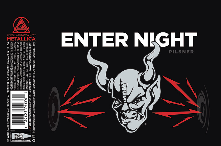 Stone Brewing / Metallica — Enter Night