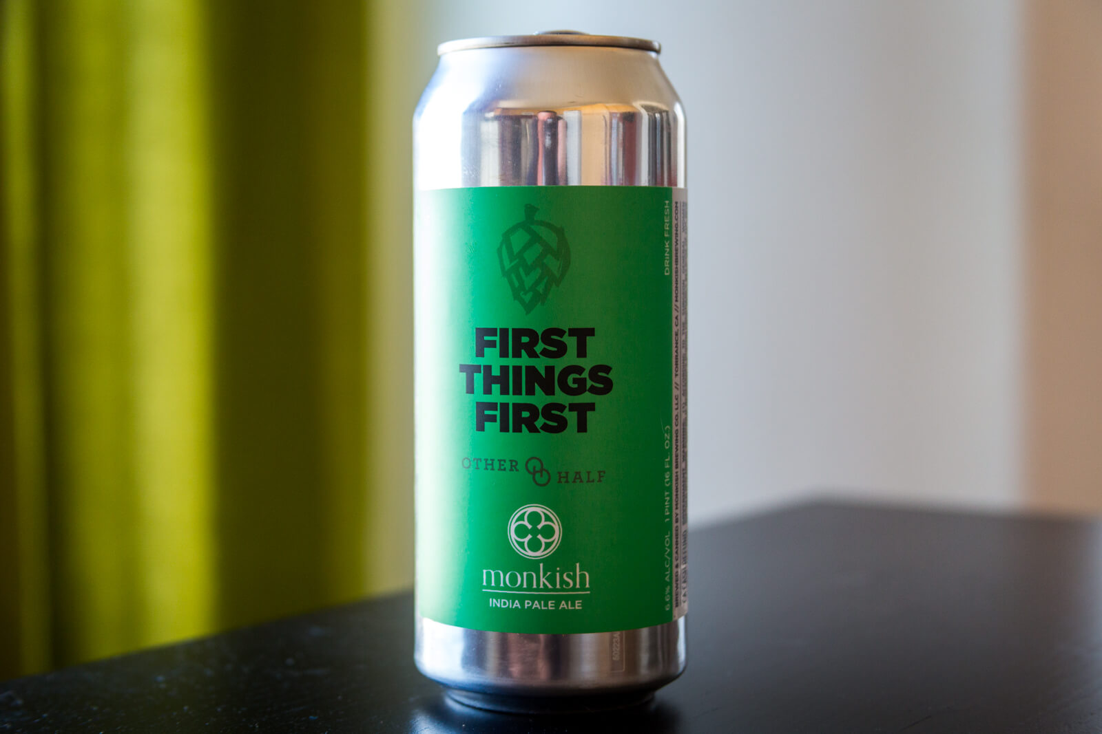 Monkish — First Things First