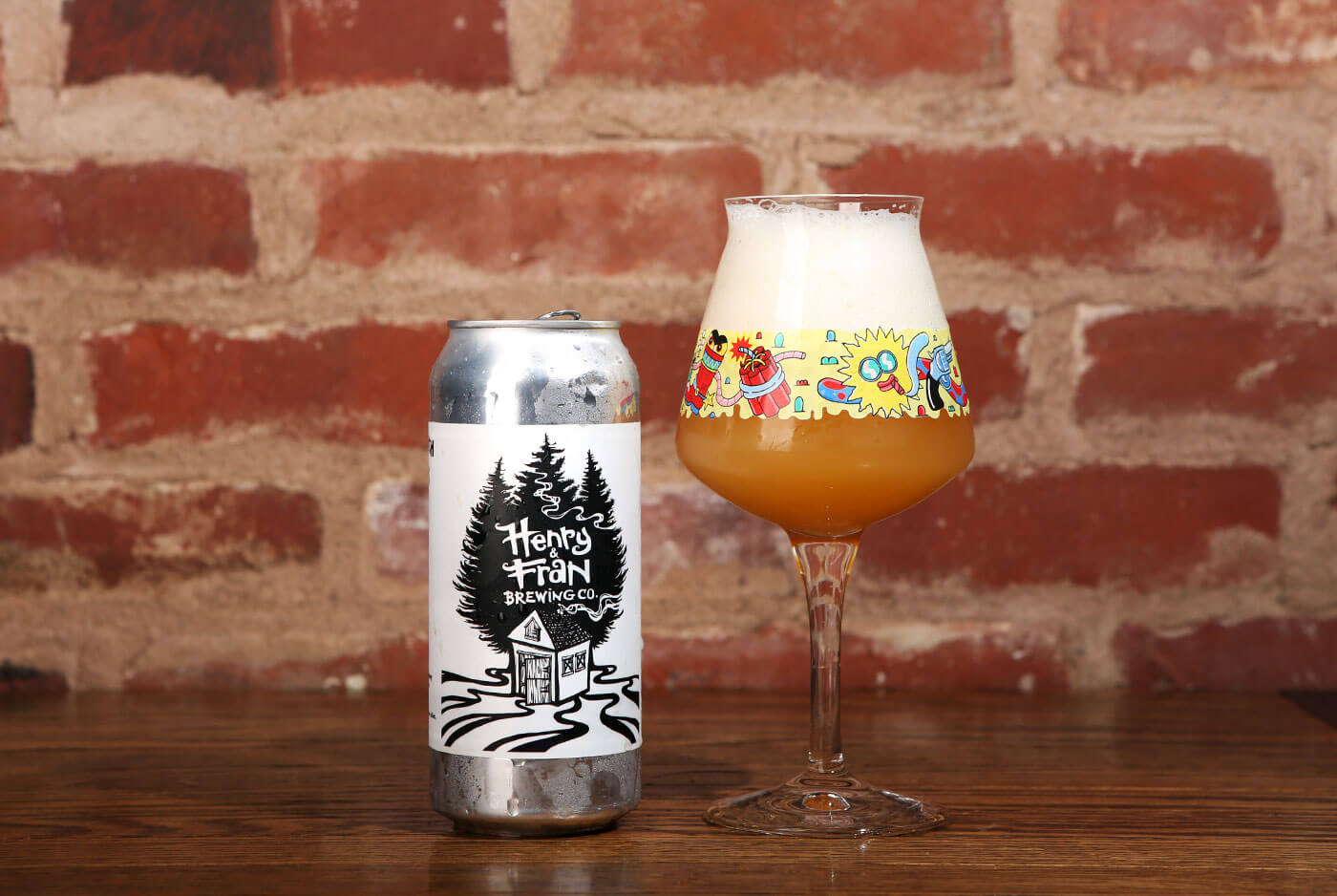 Henry & Fran Brewing Co. — Painting with Bob Ross