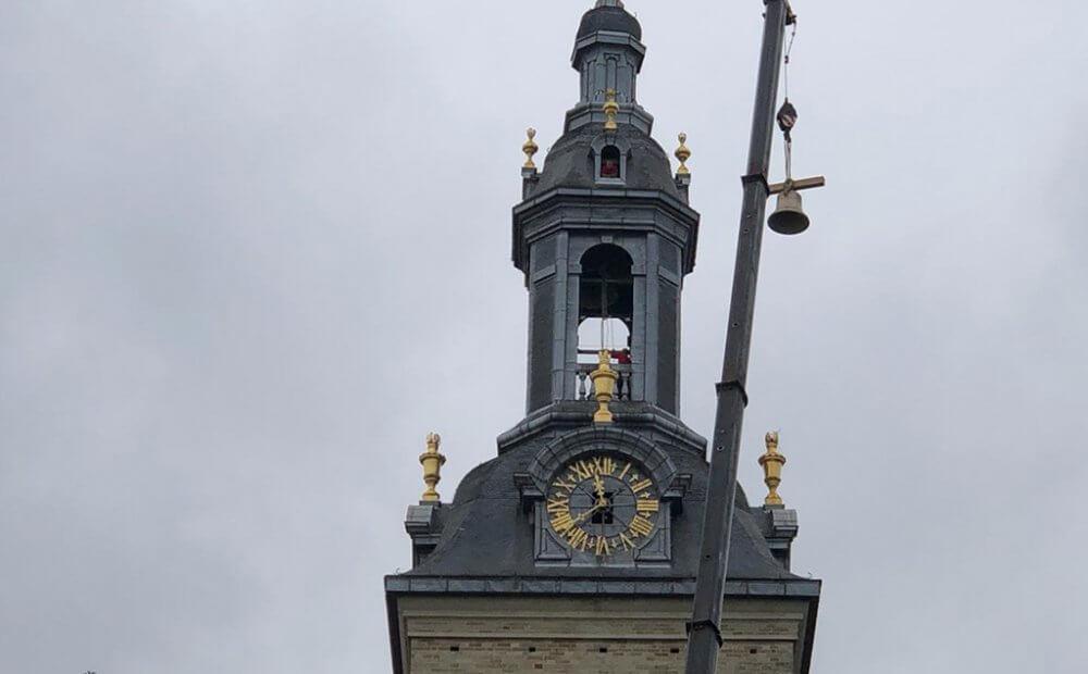 Восстановленный колокол в Хеверле