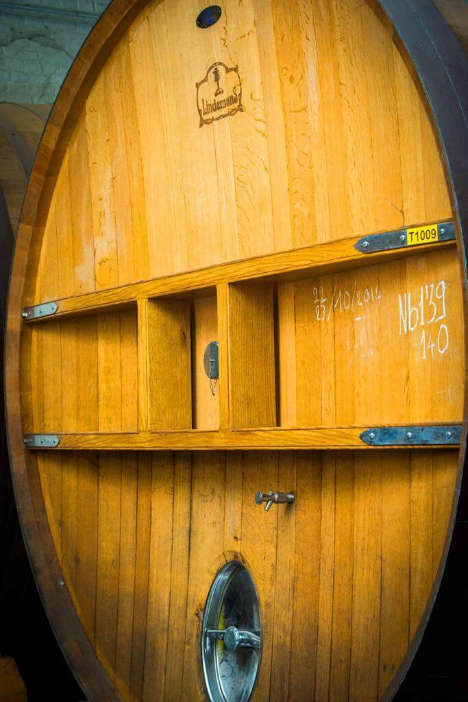 Фудеры на пивоварне Lindemans