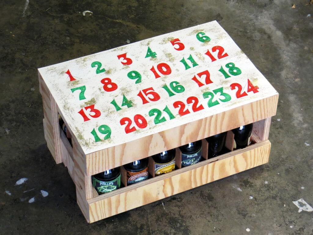 Пивной адвент-календарь своими руками