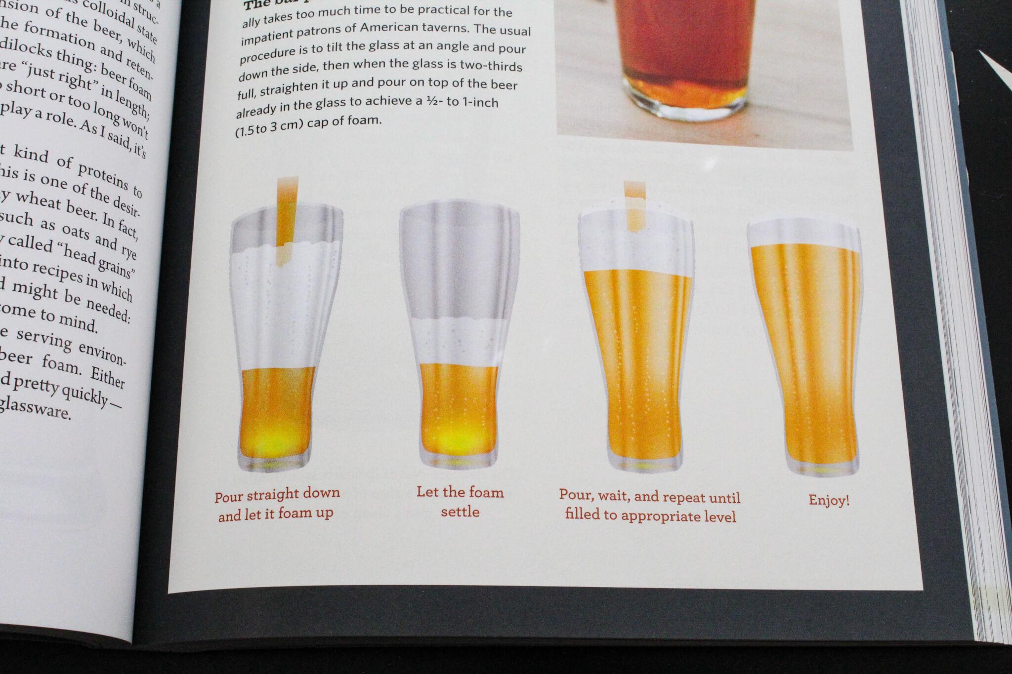 Способы налива пива