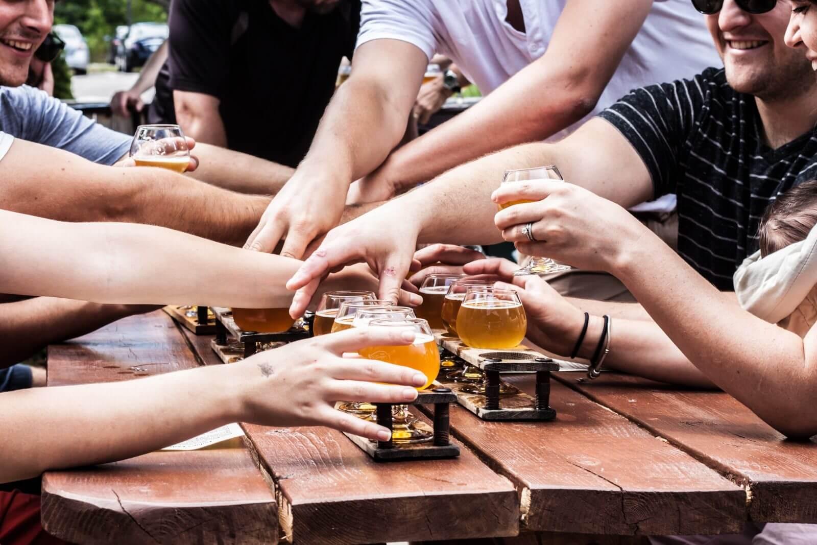 Друзья и пиво