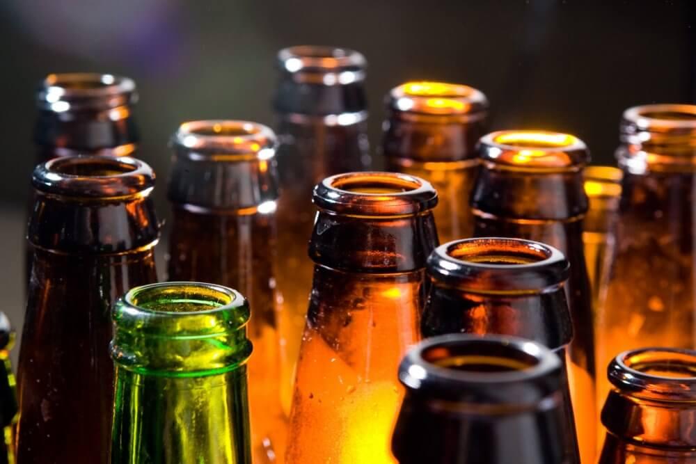 Пивные бутылки