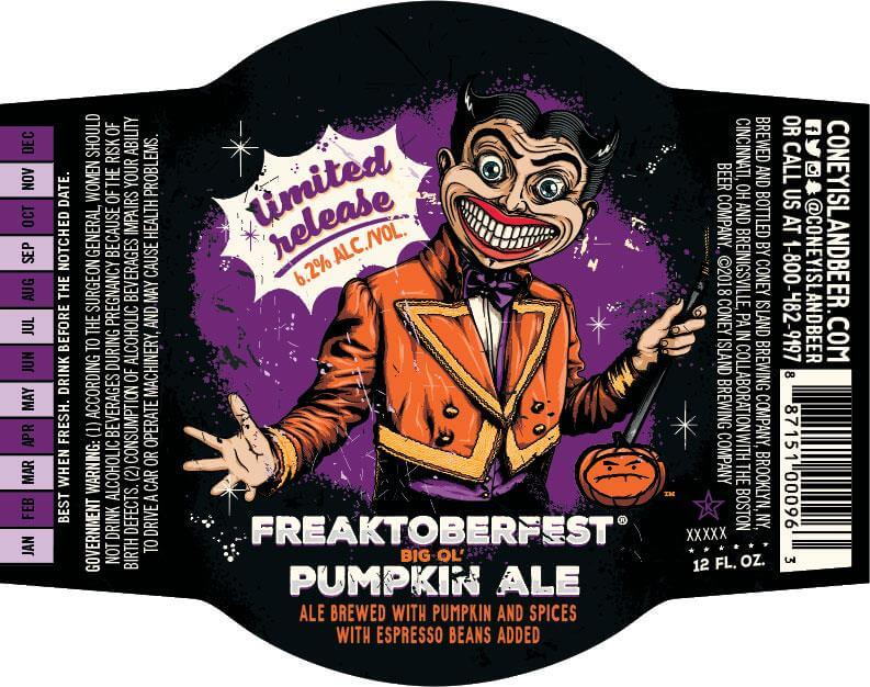 Coney Island Brewing — Freaktoberfest
