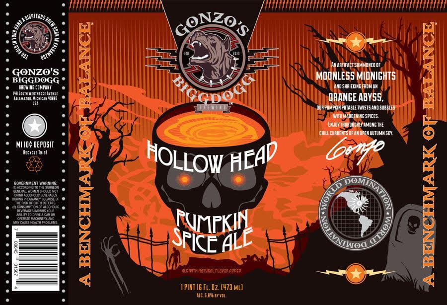 Gonzo's Biggdog — Hollow Head Pumpkin Spice Ale