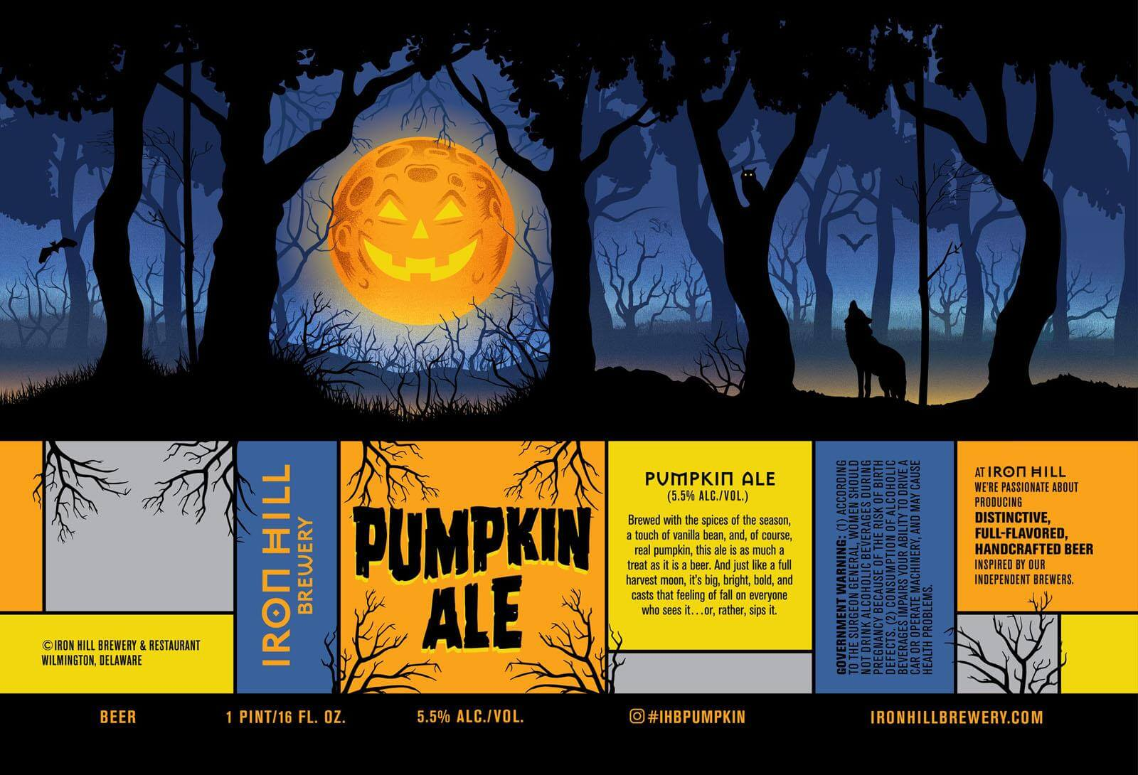 Iron Hill Brewery — Pumpkin Ale