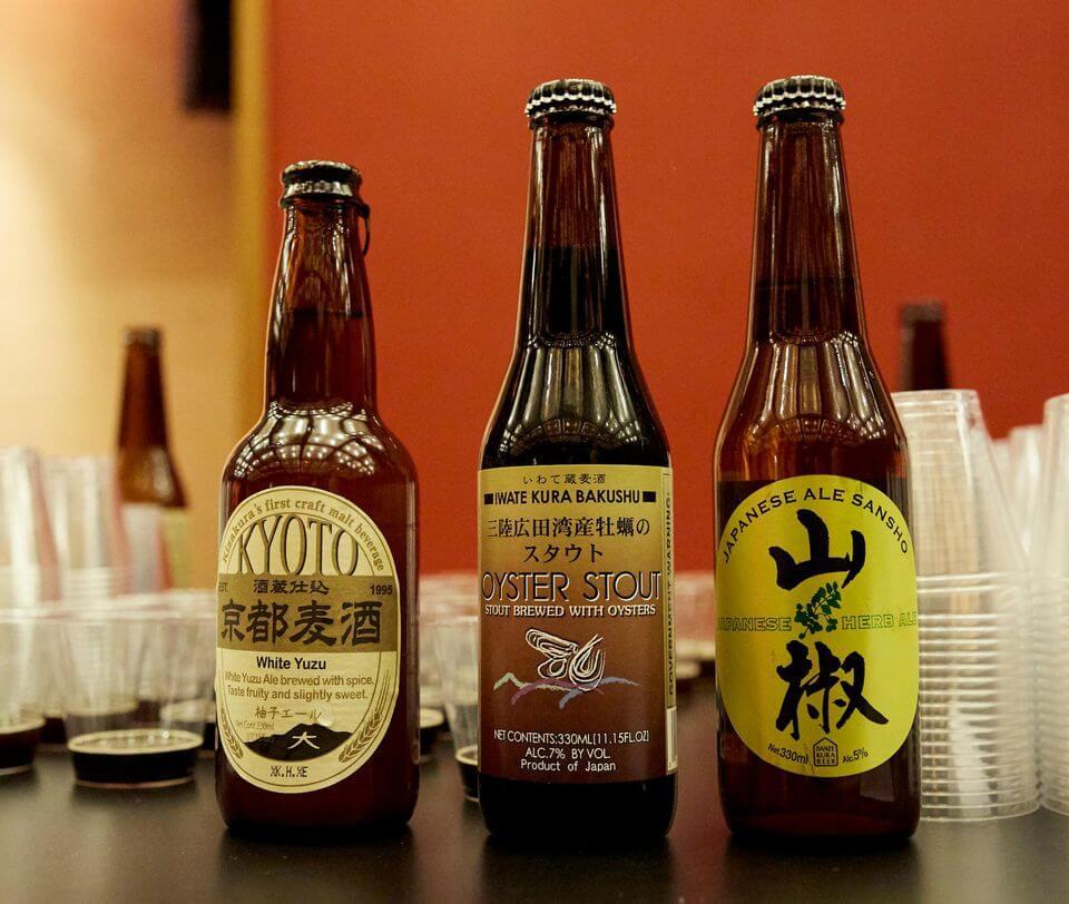Японское крафтовое пиво