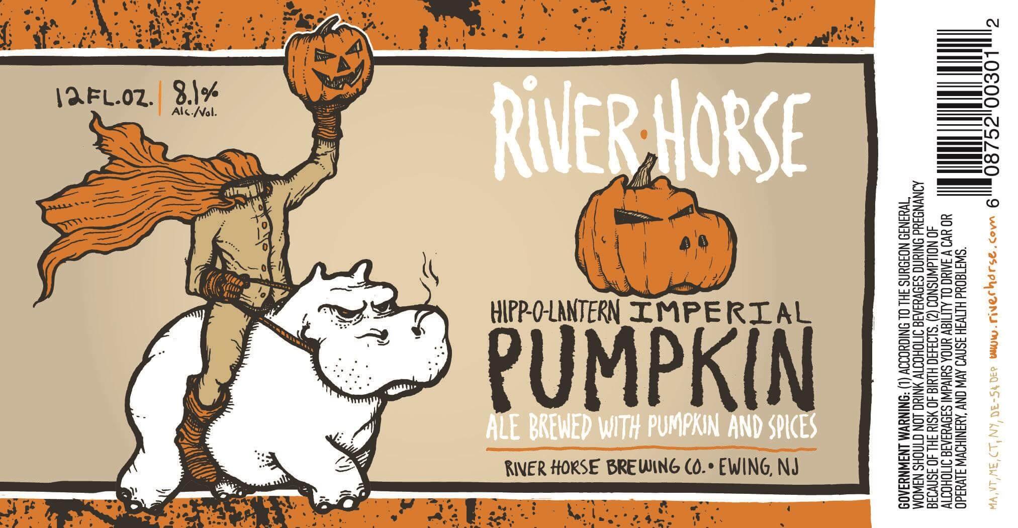 River Horse — Hipp-O-Lantern Imperial Pumpkin Ale
