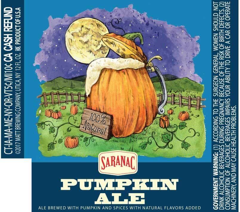 Saranac — Pumpkin Ale