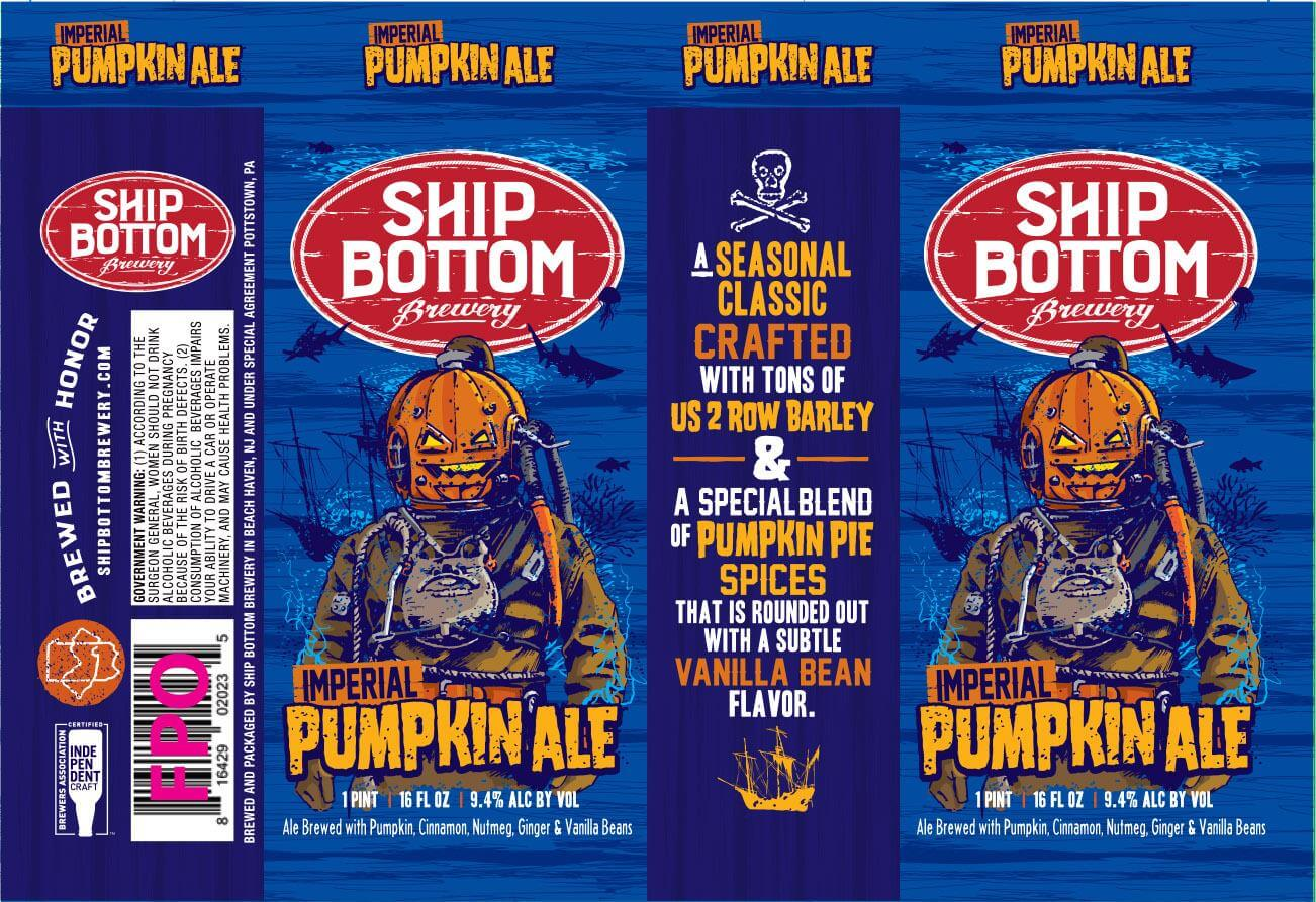 Ship Bottom Brewery — Imperial Pumpkin Ale