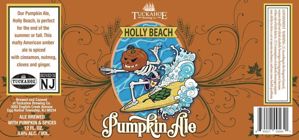 Tuckahoe Brewing — Holly Beach Pumpkin Ale